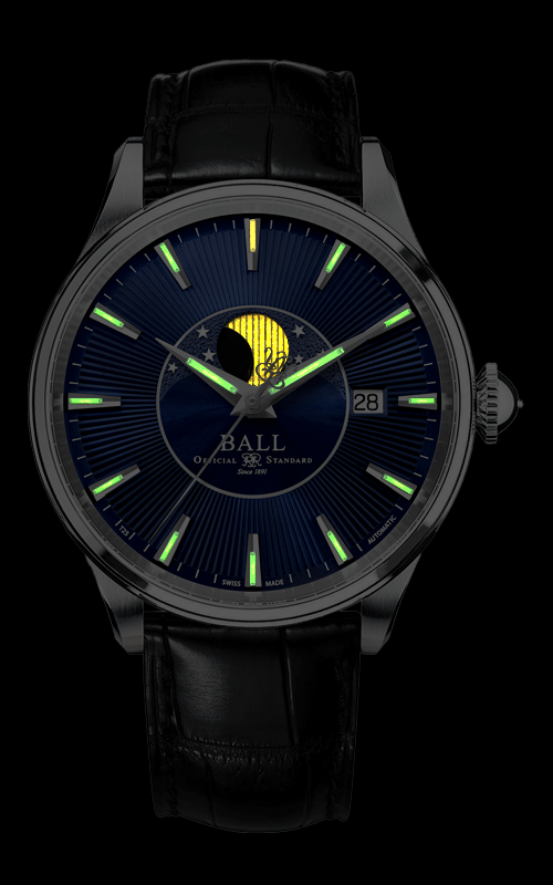 Ball Moon Phase NM3082D-LLJ-BE 2