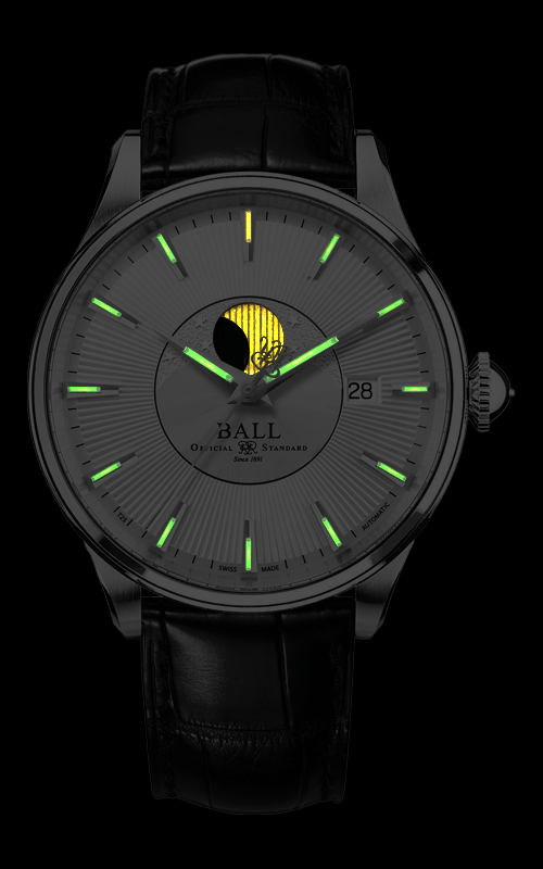 Ball Moon Phase NM3082D-LLJ-SL 2