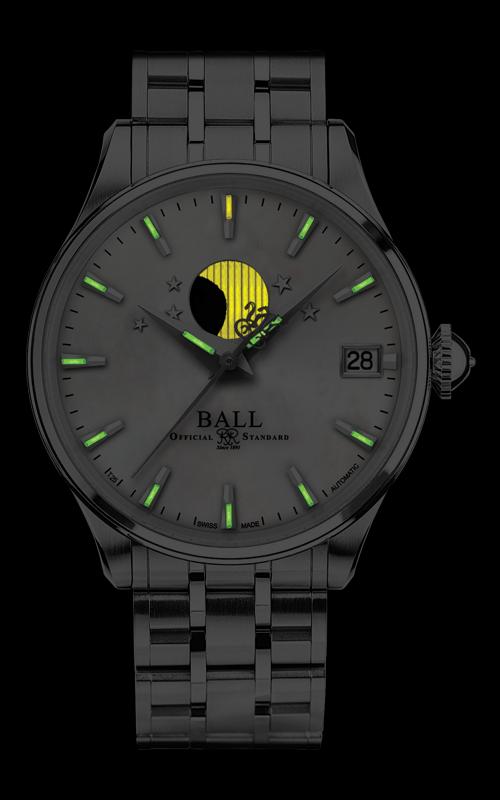 Ball Moon Phase Ladies NL3082D-SJ-WH 2