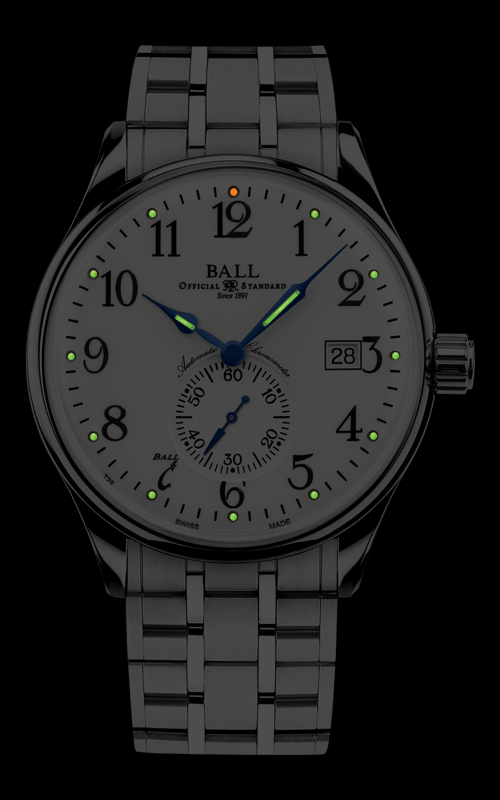 Ball Standard Time NM3888D-S1CJ-WH 2