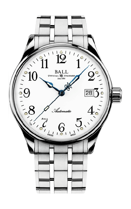 Ball Standard Time 135 Anniversary NM3288D-SJ-WH