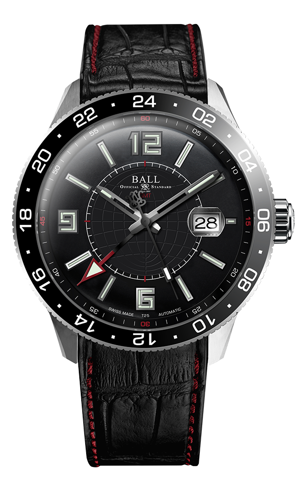 Ball Pilot GMT GM3090C-LLAJ-BK product image