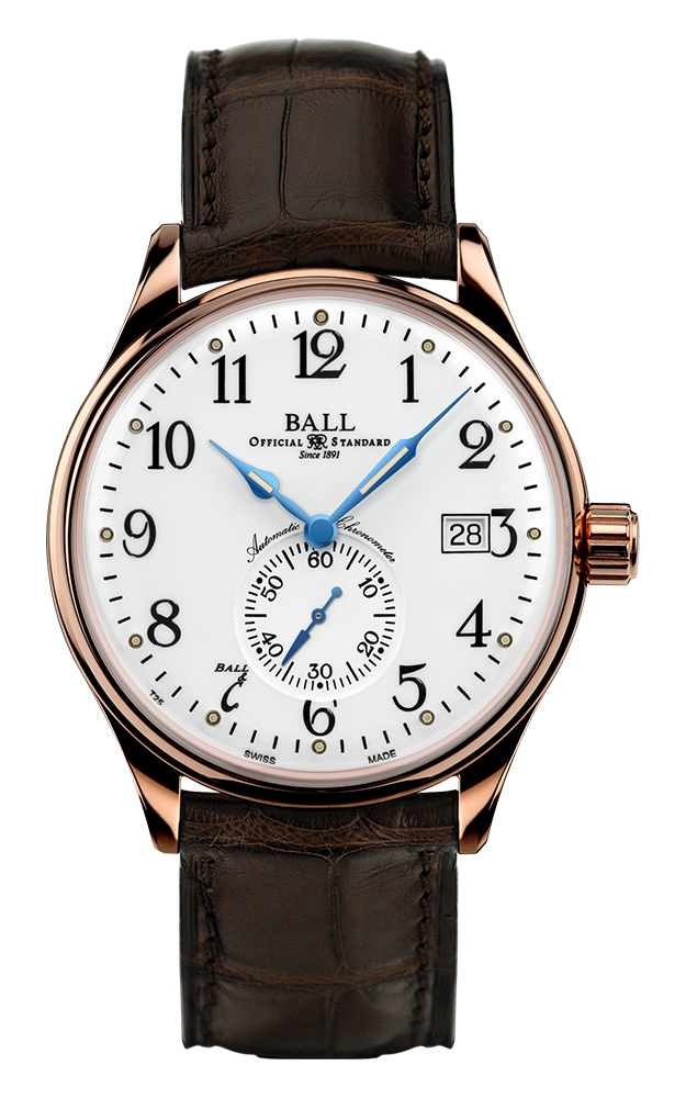 Ball Standard Time  NM3888D-PG-LCJ-WH product image