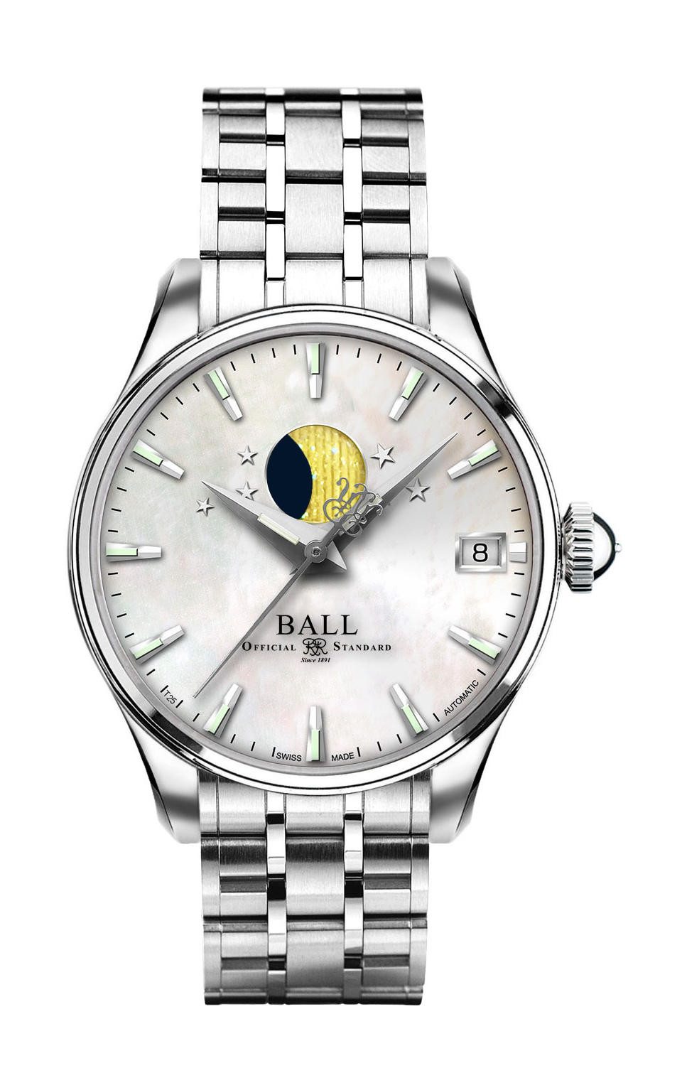 Ball Moon Phase NL3082D-SJ-WH product image