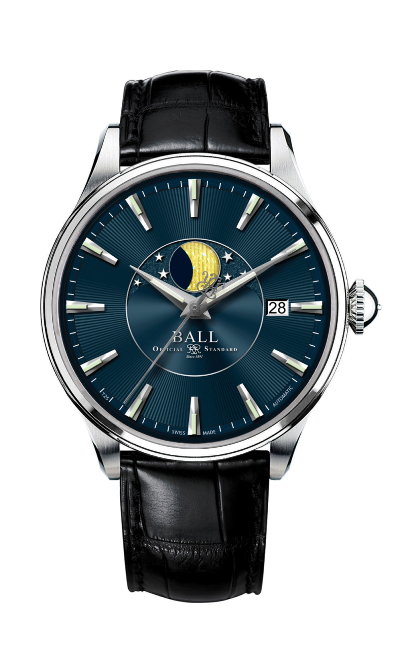 Ball Moon Phase NM3082D-LLFJ-BE product image