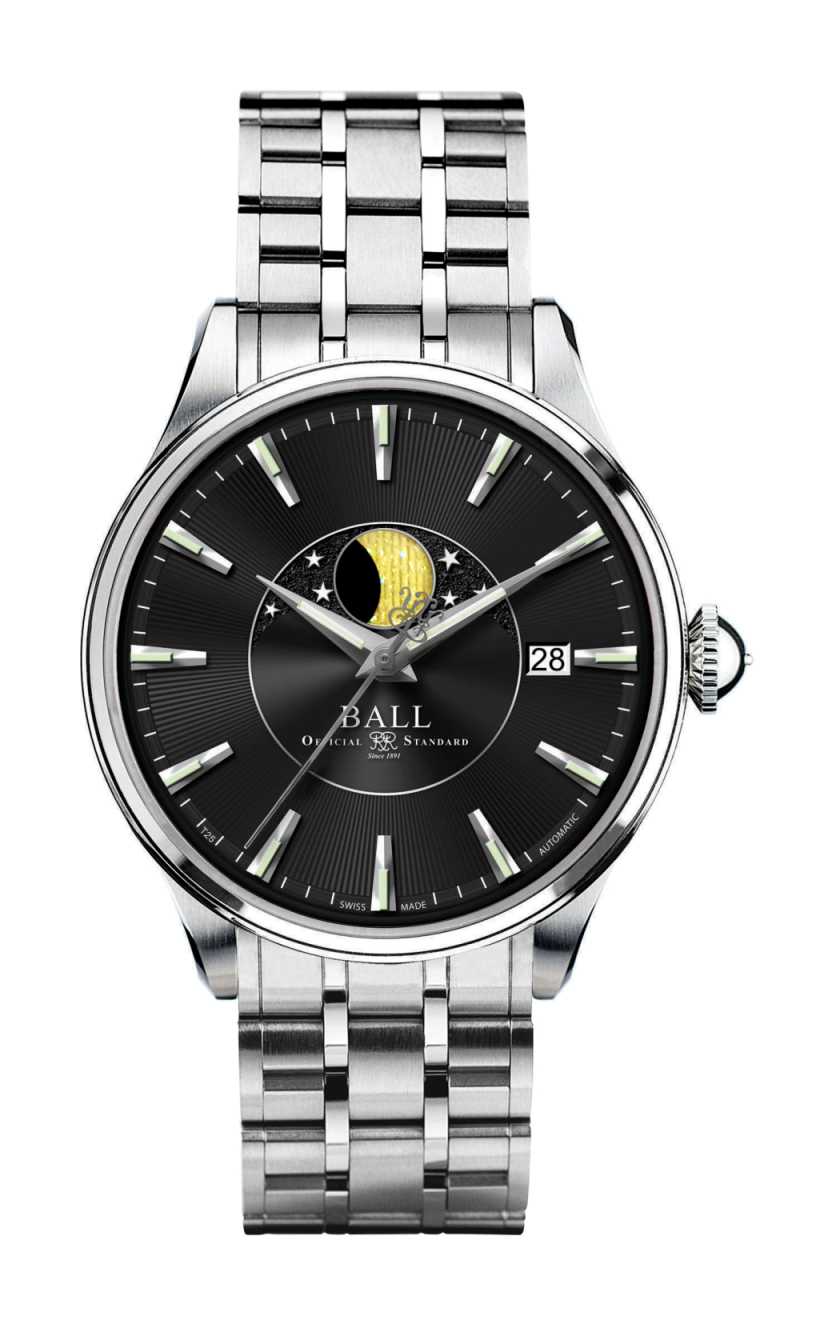 Ball Moon Phase NM3082D-SJ-BK product image