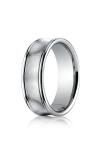 Benchmark Design Wedding Band RECF87500PD