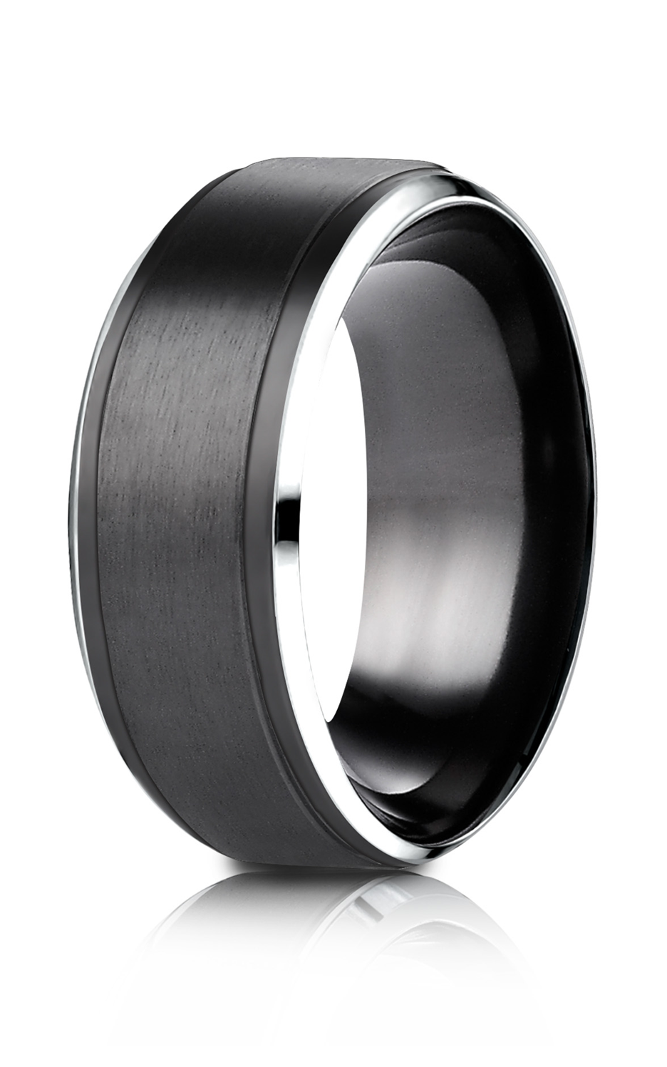 Forge Cobalt Wedding Ring CF69486BKCC product image