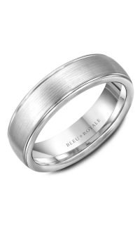Bleu Royale Men's Wedding Bands RYL-004W65