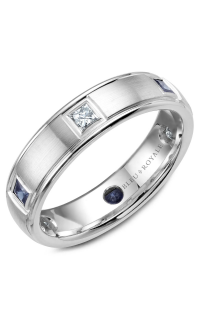 Bleu Royale Men's Wedding Bands RYL-016WDS55