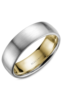 Bleu Royale Men's Wedding Bands RYL-017WY65