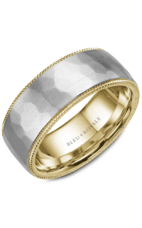 Bleu Royale Men's Wedding Bands RYL-018WY85