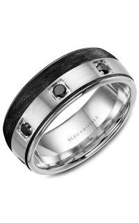 Bleu Royale Men's Wedding Bands RYL-019WBD85