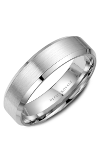 Bleu Royale Men's Wedding Bands RYL-023W65