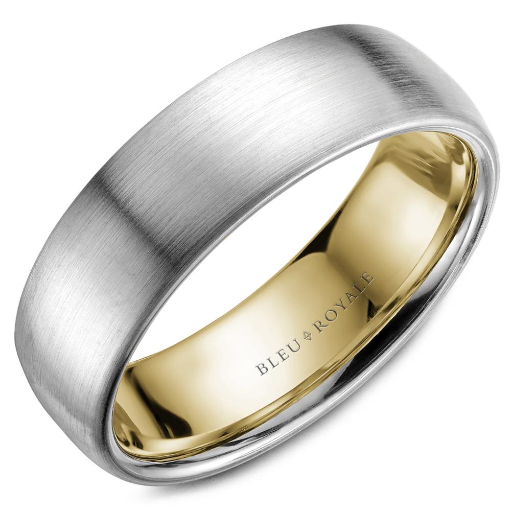 Bleu Royale Men's Wedding Band RYL-017WY65 product image
