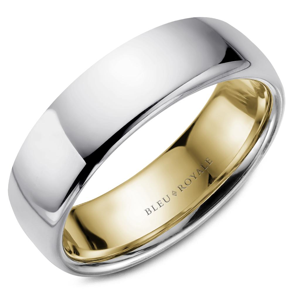 Bleu Royale Men's Wedding Band RYL-017WY65HP product image