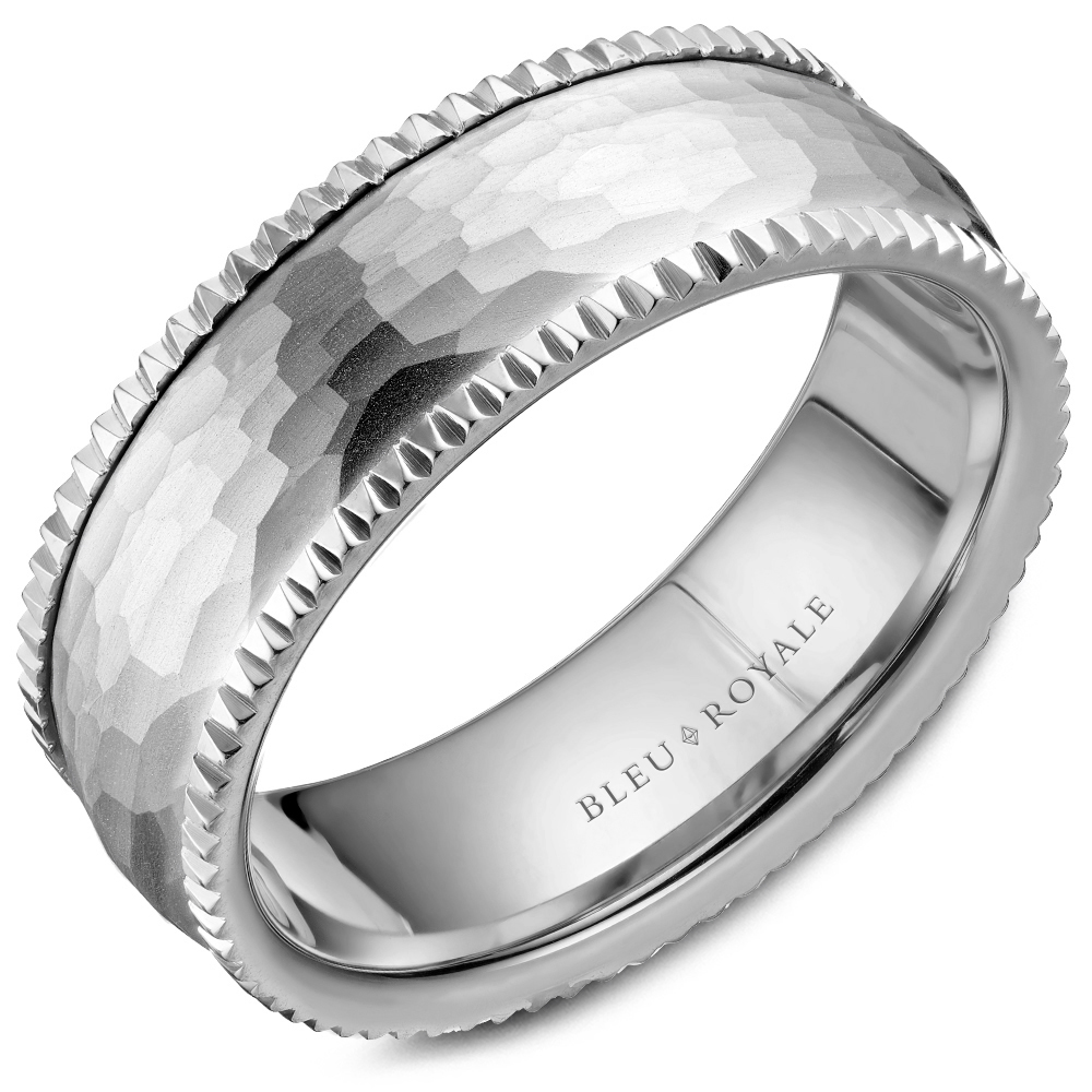 Bleu Royale Men's Wedding Band RYL-029W75 product image