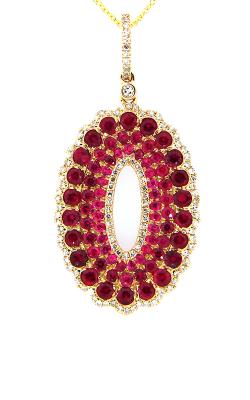 DILAMANI Venice Ruby & Diamond Pendant AP17980RX-800Y product image