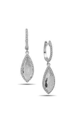 DILAMANI Rock Candy White Topaz & Diamond Earrings AE81120WT-800W product image