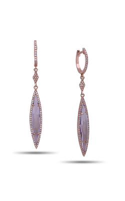 DILAMANI Rock Candy Amethyst & Diamond Earrings AE81140AM-800R product image