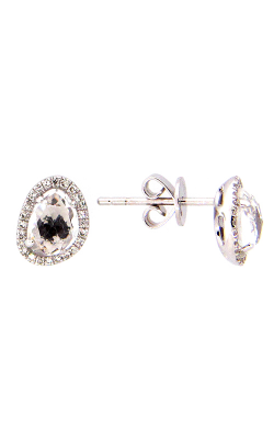 DILAMANI Rock Candy White Topaz & Diamond Earrings AE81610WT-800W product image