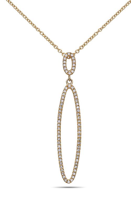 DILAMANI Silhouette Diamond Oval Loop Pendant AP81230D-800Y product image