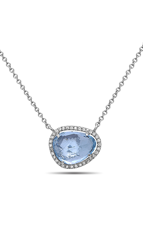 DILAMANI Rock Candy Blue Topaz & Diamond Pendant AP81620BT-800W product image