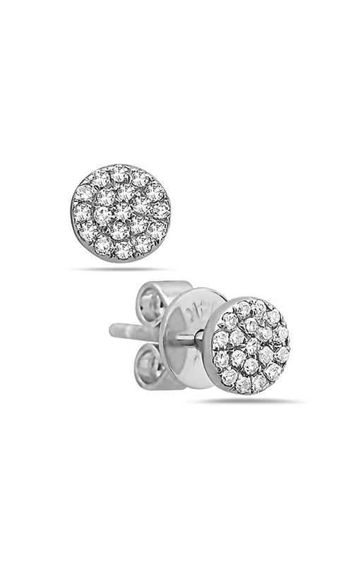 DILAMANI Silhouette Diamond Earrings AE81304D-800W product image
