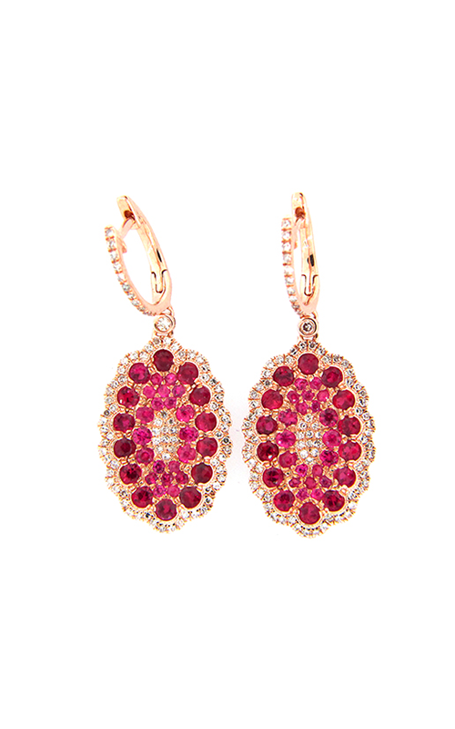 DILAMANI Venice Ruby & Diamond Earrings AE17980RX-800R product image