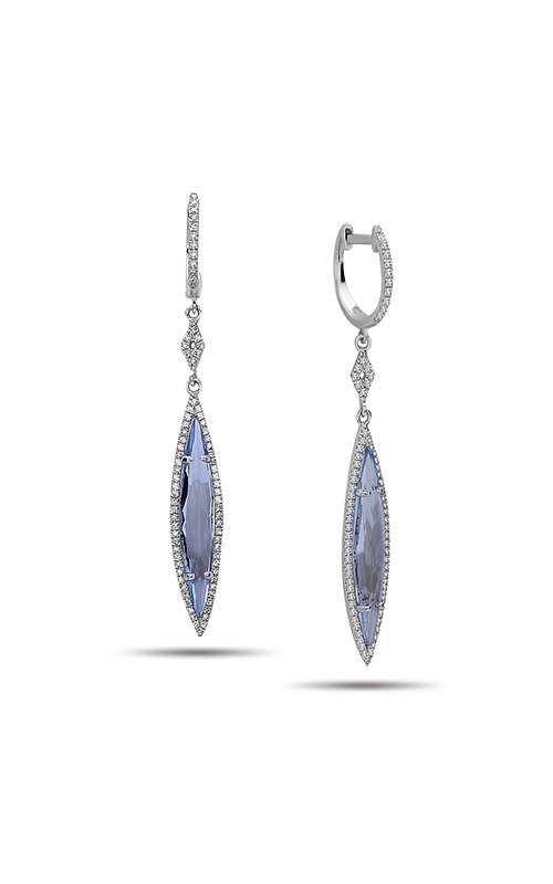 DILAMANI Rock Candy Blue Topaz & Diamond Marquise Earrings AE81140BT-800W  product image