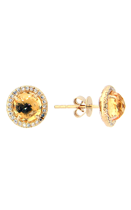 DILAMANI Rock Candy Citrine & Diamond Earrings AE81650CT-800Y product image