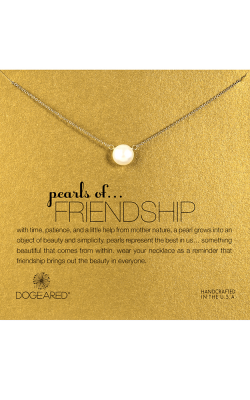 Dogeared Pearl of Friendship Necklace P02012 product image