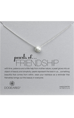 Dogeared Pearl of Friendship Necklace PS2012 product image