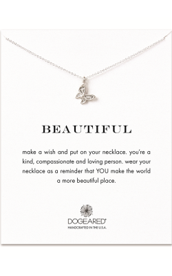 Dogeared Make a Wish on a Chain Necklace MS1095 product image