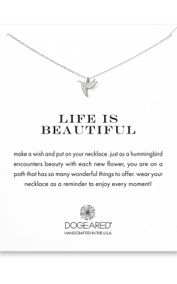 Dogeared Make a Wish on a Chain Necklace MS1465 product image