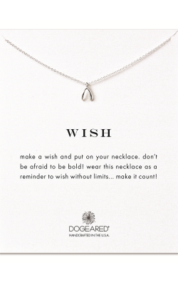 Dogeared Make a Wish on a Chain Necklace MS1627 product image