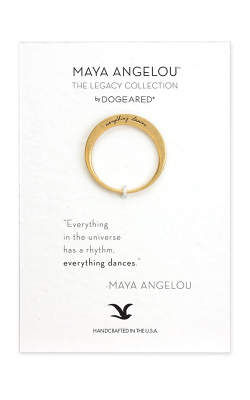 Dogeared Maya Angelou Fashion Ring LGR025 product image