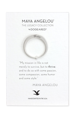 Dogeared Maya Angelou Fashion Ring LSR027 product image
