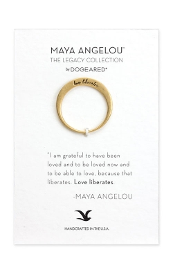 Dogeared Maya Angelou Fashion Ring LGR026 product image