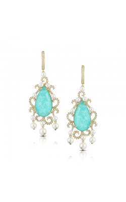 Doves by Doron Amazonite Earring E7052AZP product image