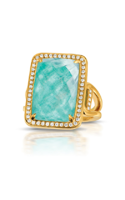 Doves By Doron Paloma Amazonite Fashion Ring R7054AZ product image