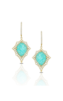 Doves By Doron Paloma Amazonite Earring E7642AZ product image