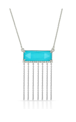 Doves By Doron Paloma St. Baths Blue Necklace N7012TQ product image