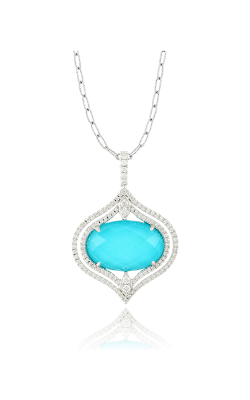 Doves By Doron Paloma St. Baths Blue Necklace P6301TQ product image