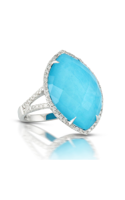 Doves By Doron Paloma St. Barths Blue Fashion Ring R6437TQ product image
