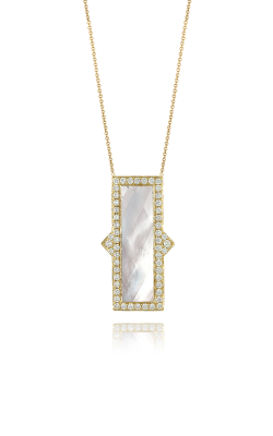 Doves By Doron Paloma White Orchid Necklace N8305WMP product image