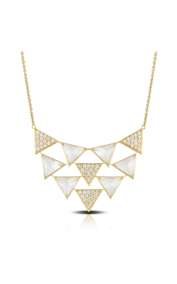 Doves By Doron Paloma White Orchid Necklace N8667WMP product image