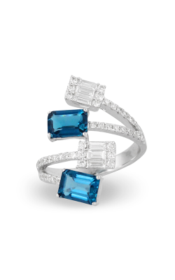 Doves by Doron Paloma London Blue Fashion ring R9026LBT product image