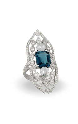 Doves By Doron Paloma London Blue Fashion Ring R8992LBT product image