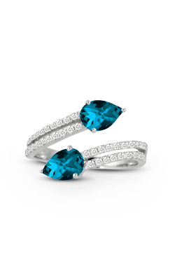 Doves by Doron Paloma London Blue Fashion ring R8941LBT product image